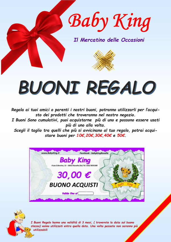 cartello buoni regalo A4 web